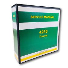 Service Manual For John Deere 4230 Tractor Technical Repair Shop Book Overhaul