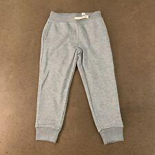The Children's Place Boys Size Small (5-6) Gray Uniform Fleece Jogger Pants Nwt