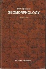 Geomorphology Principles of 1969 Topography Geology Thornbury Classic Text 2ed