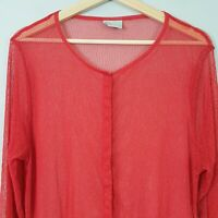 [ TS TAKING SHAPE ] Womens Mesh Tunic Top | Size XS or AU 14 / US 10