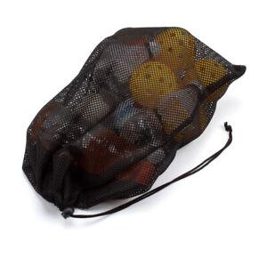 Mesh Drawstring Bag for Sports Golf Ball, Baseball Balls, Dive Snorkel, Laundry