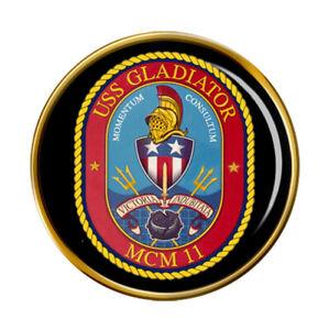 Uss Gladiador (MCM-11) Pin Insignia