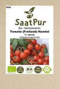 BIO Tomate Samen Freilandtomate Hamlet F1 Gemüsesamen rote Tomate Saatgut Aroma