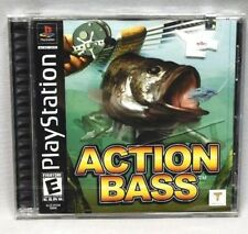 New Action Bass Complete Sealed PS1 PlayStation Game