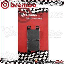 REAR BRAKE PADS BREMBO CARBON CERAMIC ITALJET DRAGSTER 125 1997 >