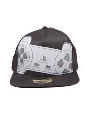 Unisex Grey SONY Playstation Biker Japanese Controller Snapback Baseball Cap