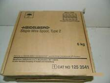 Heidelberg DigiMaster 9110 Type2 Staple Wire Spool (Heidelberg 125-3541 Staples)
