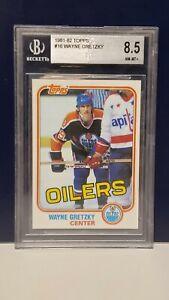 Wayne Gretzky 1981-82 Topps #16 Beckett 8.5 (BGS)