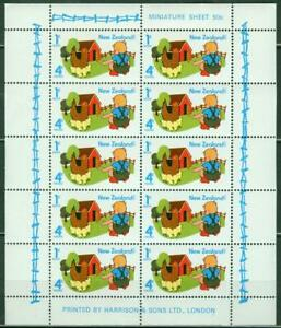 New Zealand. 1975. Health. Mini Sheet. MUH.
