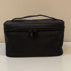 Muji Black Make Up Cosmetic Travel Case Bag