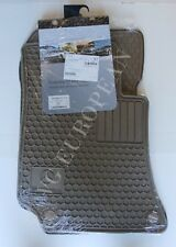 Mercedes-Benz W212 W218 E CLS Sedan Genuine All Season Rubber Floor Mat Set NEW