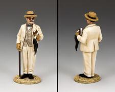 KING AND COUNTRY Hercule Poirot WoD063 WoD63 Painted Metal