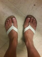 Women's Well Worn Upper Leather Sandals Size 9