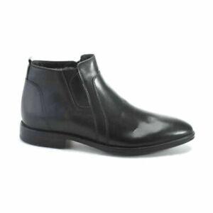 Authentic Handmade Deckard Mens Leather Boots Size UK 11 / EU 45 Black