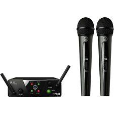 AKG WMS40 Mini Dual Vocal Set Wireless Handheld Microphone System (Band B/D)