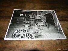 Vintage Black & White Photo of a 19th Century Blacksmith Shop FREE US SHIP