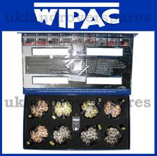 LAND ROVER DEFENDER WIPAC CLEAR LED LIGHT LAMP 73MM LENS UPGRADE KIT SET