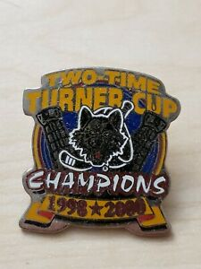 Chicago Wolves Two-Time Turner Cup Lapel Pin