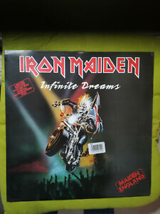IRON MAIDEN - INFINITE DREAMS - MAXI S. - 1989 UK