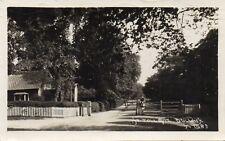 The Toll Gate Dulwich London 1931 Original Real Photo Postcard (96L)