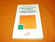 antonio ghirlanda come leggere la bibbia san paolo br. cucita 1995