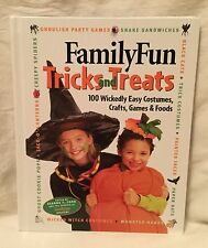 Family Fun Tricks & Treats Easy Costumes Crafts Games Disney 1st Ed. Halloween