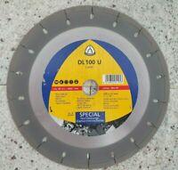 Diamanttrennscheibe Dünnschnitt 230 - Laser Klingspor DL100U