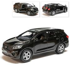 Kia Sorento Prime Metal Model Diecast Car Scale, Collectible Toy Car, Black 1/36