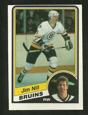 1984-85 OPC O-PEE-CHEE #11 JIM NILL BRUINS NM-MT FREE SHIPPING 🔥