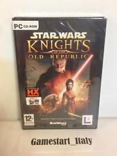 STAR WARS KNIGHTS OF THE OLD REPUBLIC - PC - NUOVO SIGILLATO NEW VERSIONE ITA