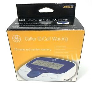 GE Caller ID Call Waiting 70 Name and Number Memory Model 29096GE1 New Open Box