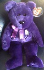 "TY Beanie Buddies 1998 Princess Diana Teddy Bear - 14"" Tall. With Tag."