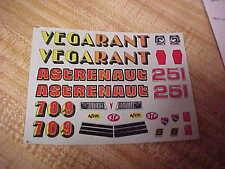 VINTAGE DECALS----AMT,,,,CHEVY VEGA-PONTIAC ASTRE FUNNY CAR