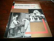 Pullman Company Exhibit - Golden Gate International Exposition 1939 - 8 pages