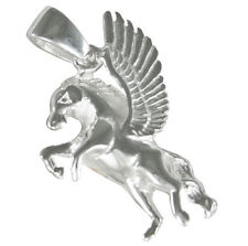 10 x Plata Tibetana Unicornio Pegasus cuento de hadas Harry Potter 3D Encantos Colgantes