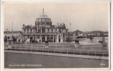 Southampton; The Royal Pier RP PPC By J Salmon, 1958 PMK, No 23346