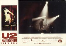 U2 Rattle And Hum 1988 Spanish Front of House Still #1257 ST