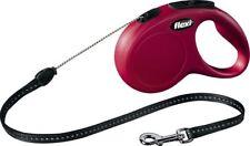 Laisse enrouleur Flexi Classic XS Rouge Chien/chat 3 M Corde