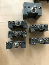 Aloris Quick Change Tool Holders Ca1 Qty 1 Ca2 Qty 4 Ca4 Ca4q 2000