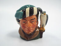 Royal Doulton D6547 The Falconer Small Character Toby Mug Jug, 2 5/8""