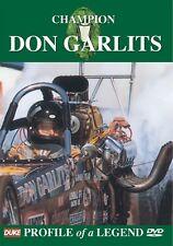 DON GARLITS DVD. 79 Mins. (Updated 2008). DRAG RACING DVD. DUKE Video 5195N