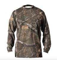 REALTREE Xtra Hunting Fishing Camping Hiking Performance Tshirt Cotton 4XL