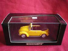VOLKSWAGEN 1302 Cabriolet 1970/72 (jaune) MINICHAMPS- 1/43em