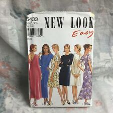 New Look 6433 Boho, gypsy, maxi dress vintage UNCUT sewing Pattern size 6-16