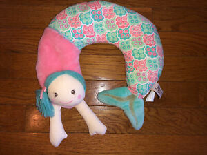 Maison Chic Travel Pillow, neck support, Shellie The Mermaid