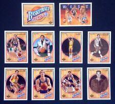Upper Deck Los Angeles Lakers Original Set Basketball Cards