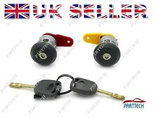 FORD FIESTA COMPLETE DOOR LOCK SET + 2 KEYS FRONT RIGHT and LEFT OSF NSF