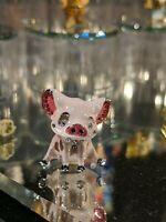 Disney Arribas Brothers Swarovski® Crystal Pua Pig Moana Jeweled Mini Figure