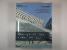 Mastering AutoCAD 2012 and AutoCAD LT 2012 OPENED Software disk Textbook