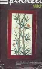BAMBOO - NEEDLEPOINT KIT ~ SPINNERIN  vintage - ST1070